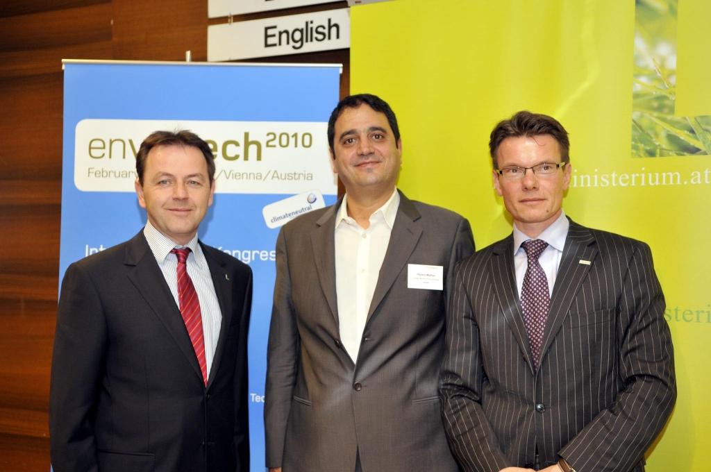 Envietech 2010-Fotograf: BMLFUW/Kern